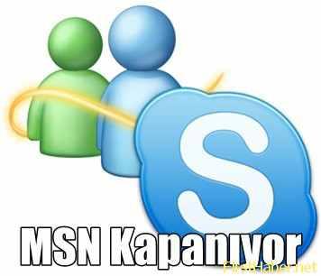 Nisan 2013 Messenger Kapanıyor